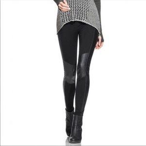 Cabi Faux leather leggings